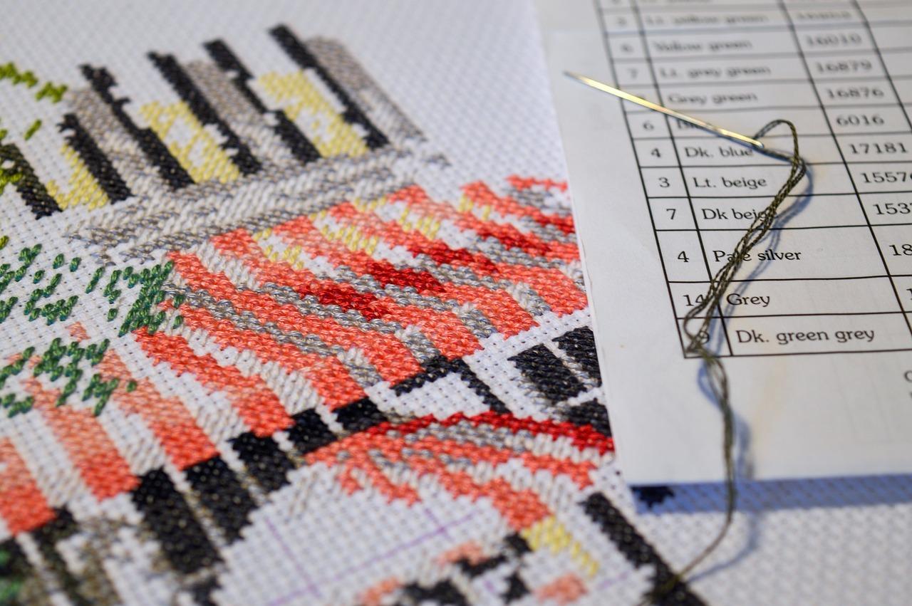 Как стирать вышивку мулине 20