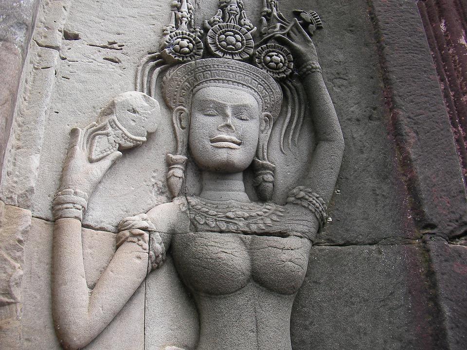 Cambodia, God, 廟-woo