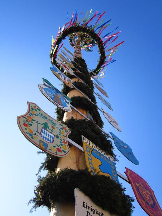 Maypole, 1 May, 1, Tradition, Need Old, Village Life