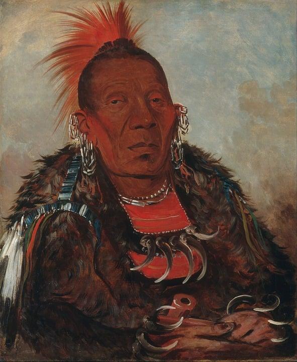 Painting, Art, Artwork, George Catlin, 1832