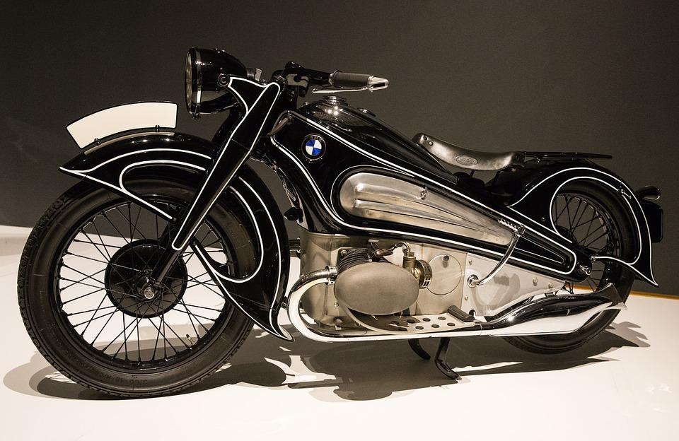 Motorcycle, 1934 Bmw R7 Concept, Art Deco