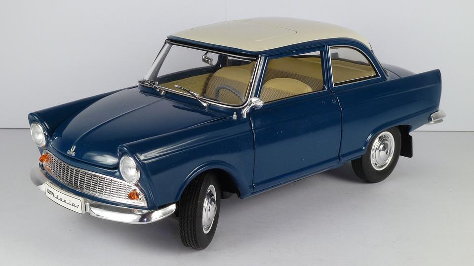 Dkw, Junior, 1961, 1x18, Model Car, Revell