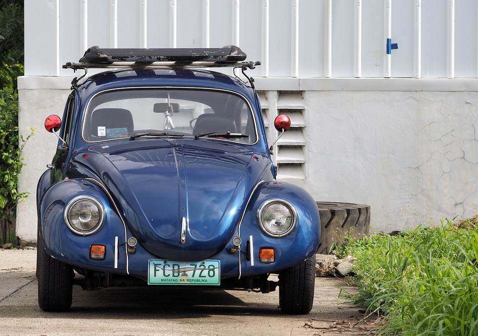 Volkswagen Beetle, 1971, 1973, Wagon, Small, Car