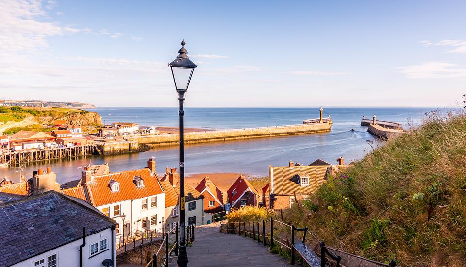 Whitby, North Yorkshire, England, 199 Steps