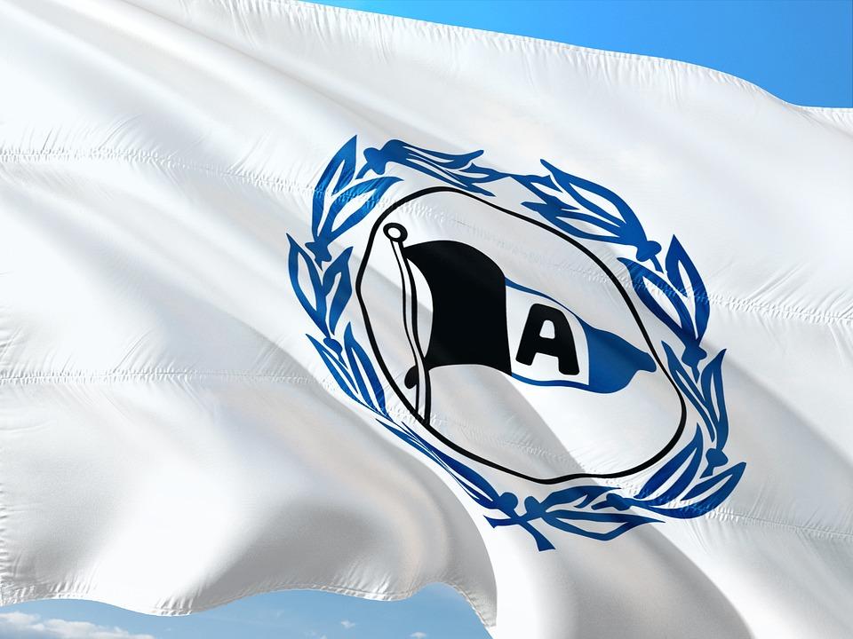 Flag, Logo, Football, 2, Bundesliga, Arminia Bielefeld
