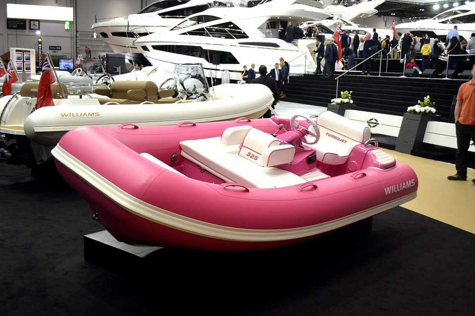 Dingy, Inflatable, London, Boat Show, 2014, Boats