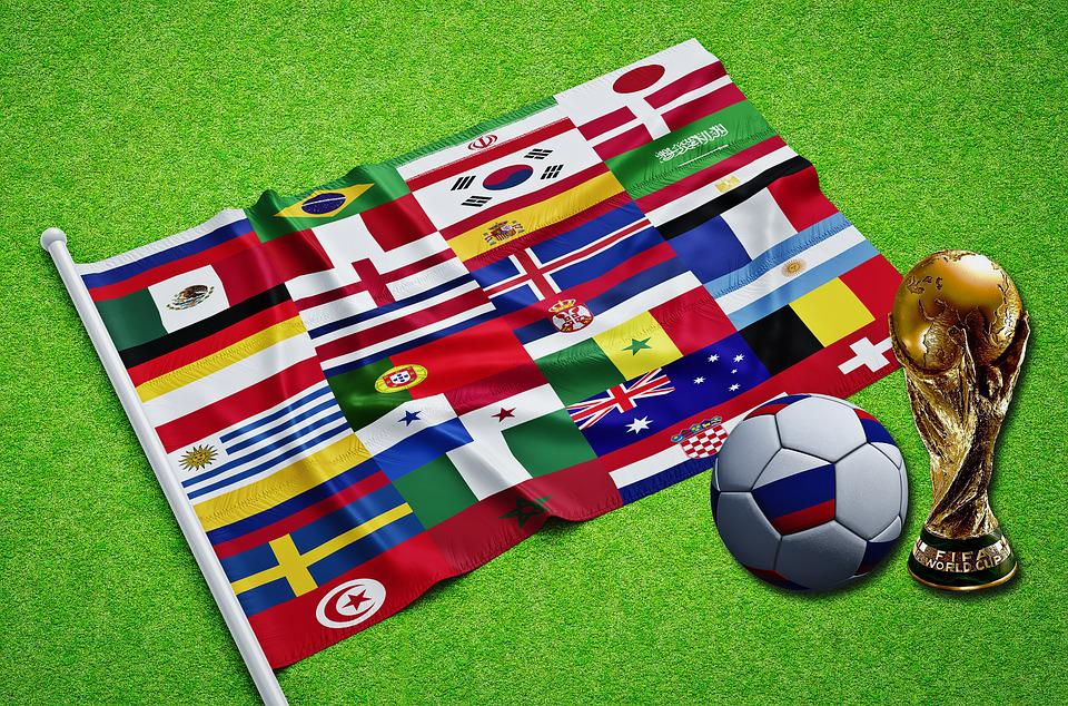 Russia, Russian, World Cup, 2018, World, Fifa, Flag