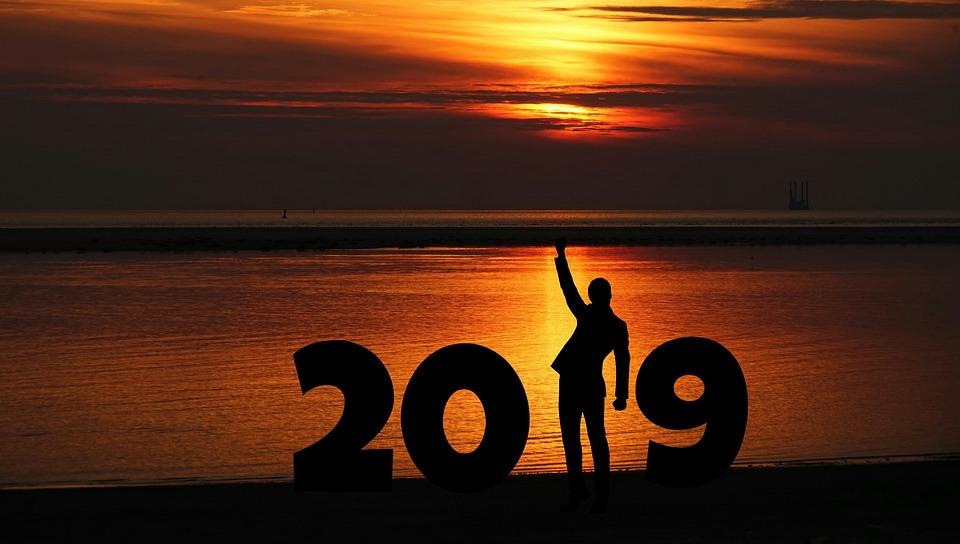 New Year, 2019, Business Man, Determination