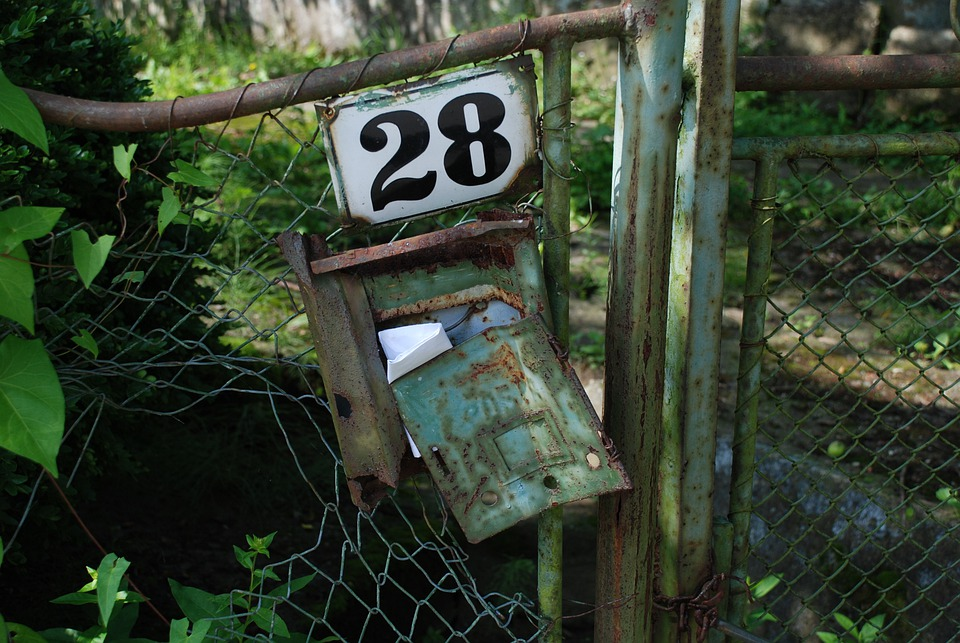 Mailbox, 28, Letter Box, Post, Send, Letters, Yellow