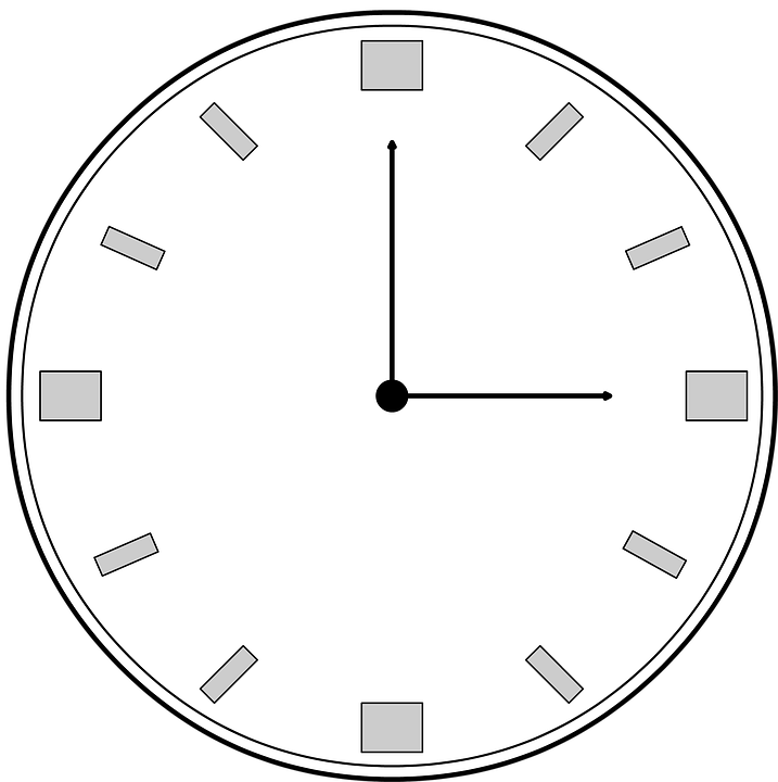 Watch, Time, 3 Hours, Late, Schedule, Illustration