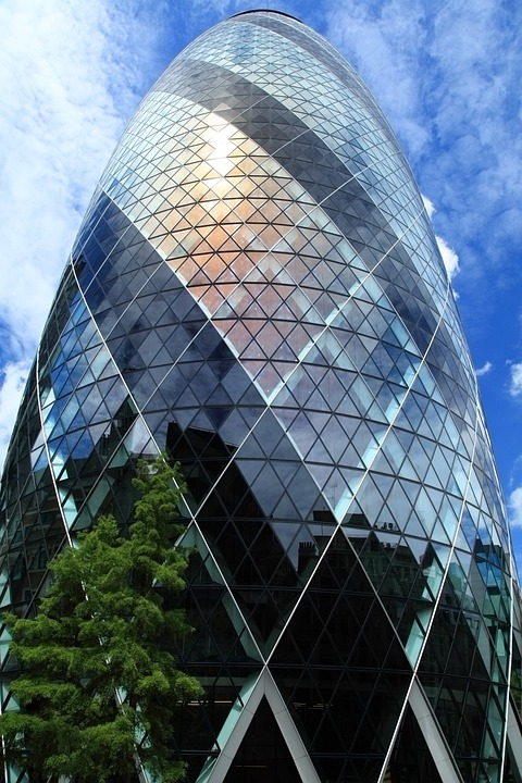The Gherkin, London, Architecture, 30 St Mary Axe