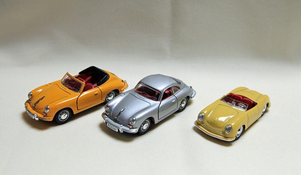 Porsche, Model Car, 356, Convertible, Auto