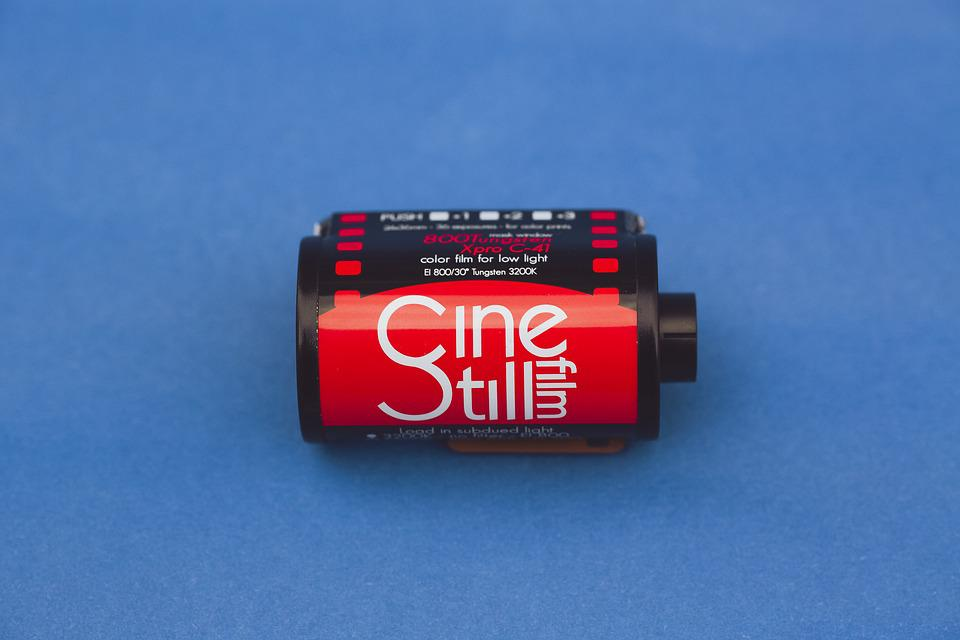 Film Roll, 35mm, Small Picture, Format, Film, Negative