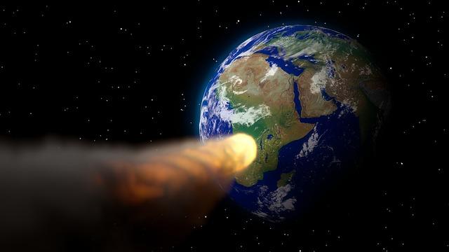 Armageddon, Apocalypse, Earth, Asteroid, 3d, Blender