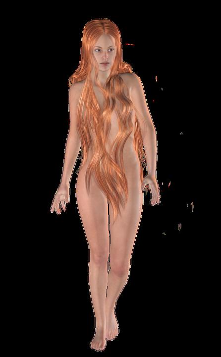 Aphrodite, Goddess, Venus, Woman, Redhead, 3d Figure