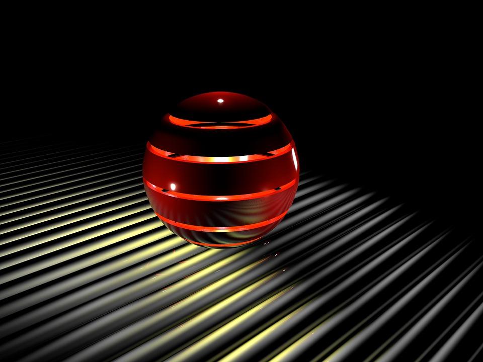 Sphere, Light, 3d Grafic