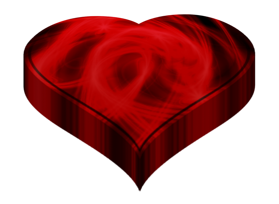 Heart, Love, Red, 3d