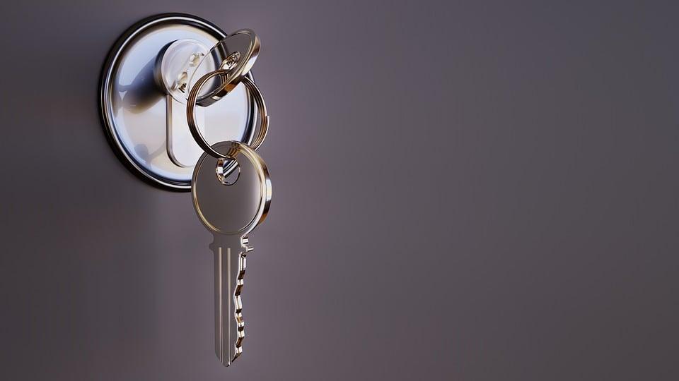 Key, Castle, Security, Metal, 3d, Closed, Close