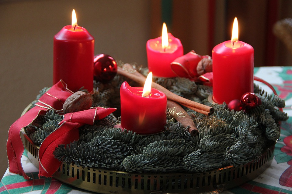 Advent, 4 Advent, Advent Wreath