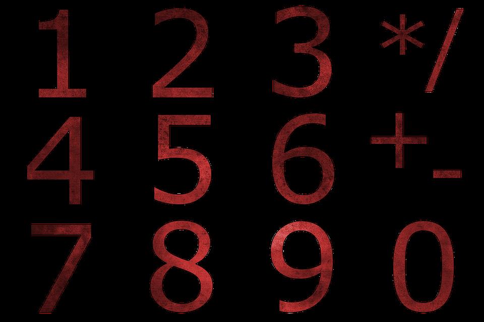 Pay, Digits, Numeric Keypad, 1, 2, 3, 4, 5, 6, 7, 8, 9