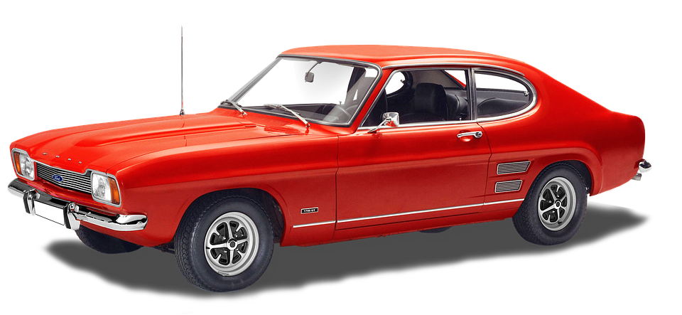 Ford Capri, 1700gt, 4-cyl, 1699 Cc Engine Displacement