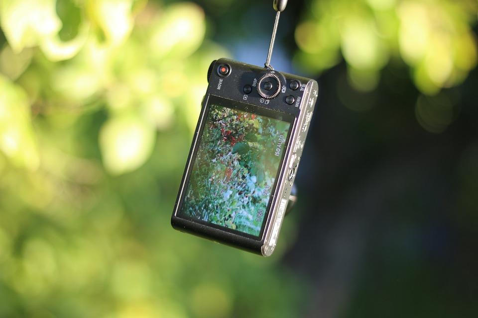 Sony Wx-350, Pocet Camera, Compact Camera, Camera, 4k