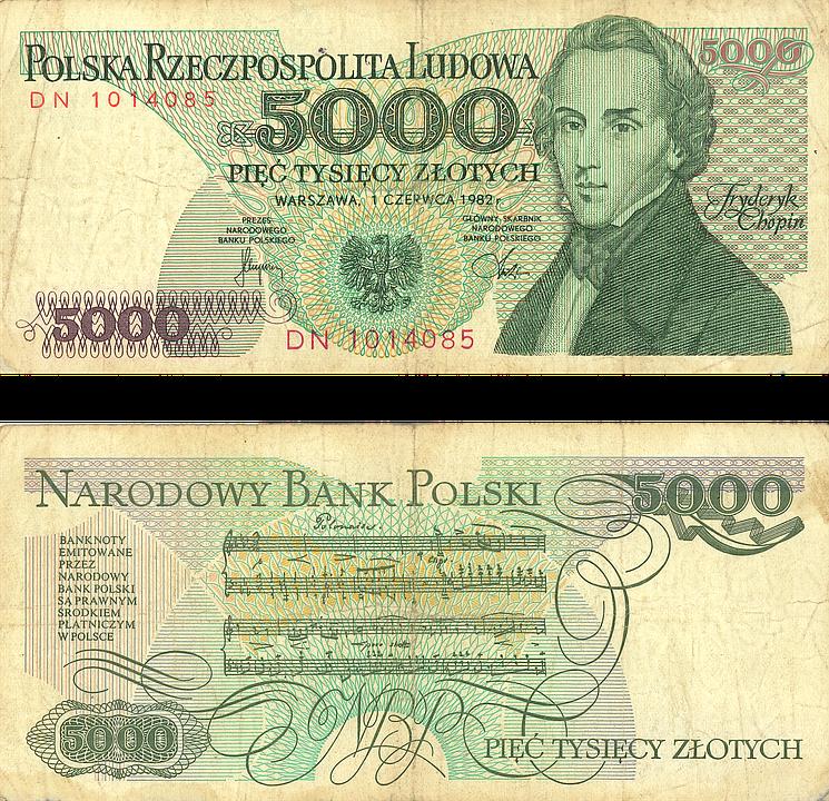 Money, Buck, 5000 Russian Ruble, Old Money