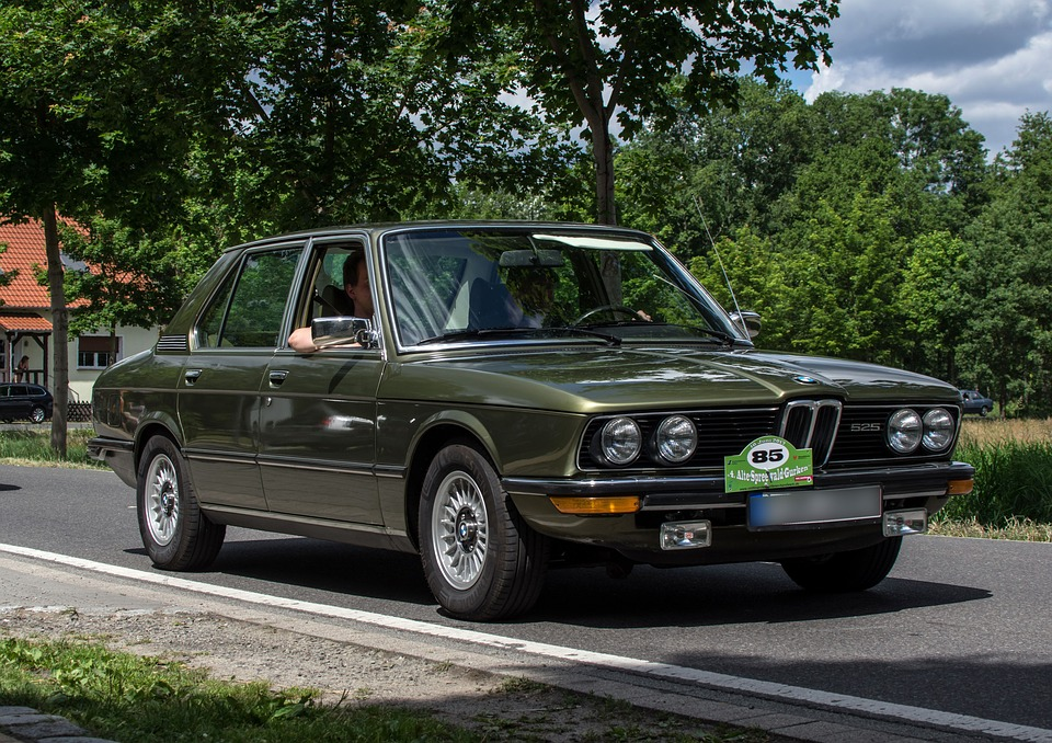 Bmw, 525, Automotive, Limousine, Vehicle, Pkw, Classic