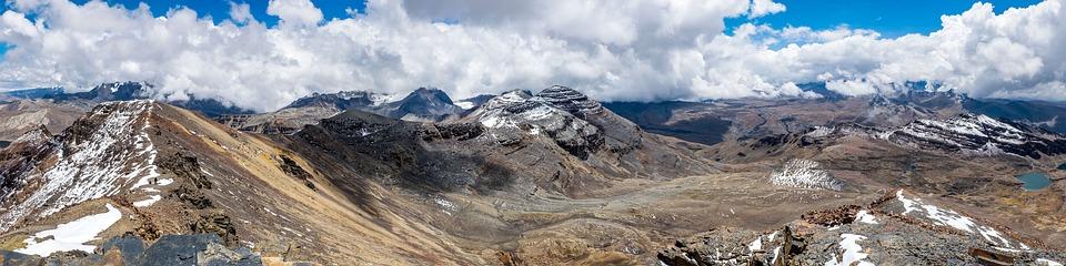 Chacaltaya, Bolivia, 5421m, Panorama