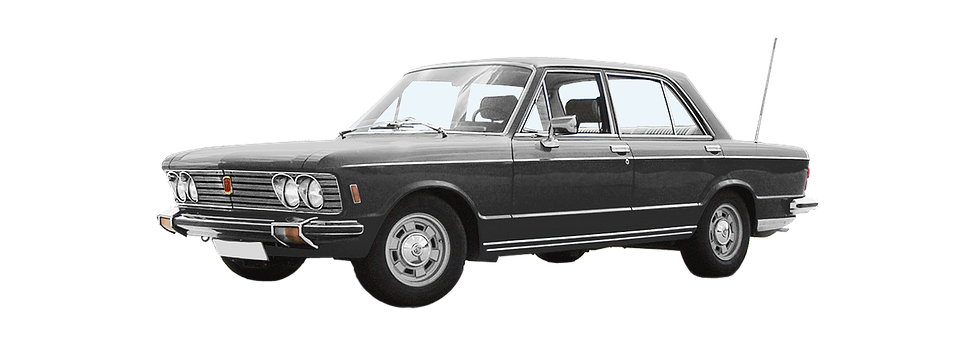 Isolated, Fiat 130, 6-cyl V, 2866 Ccm, 140 Hp, 180 Kmh