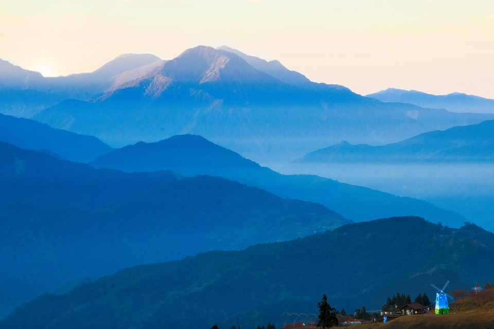Mountain, A Bird's Eye View, Nature, Tourism, Outdoor