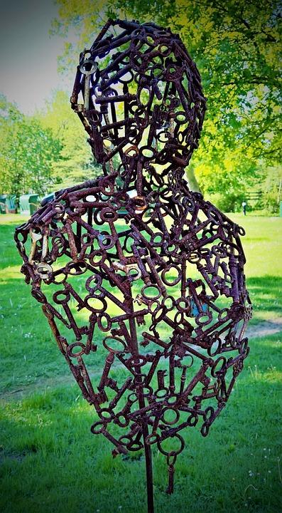 Key, A Key Figure In, Art, Various Sizes, Park