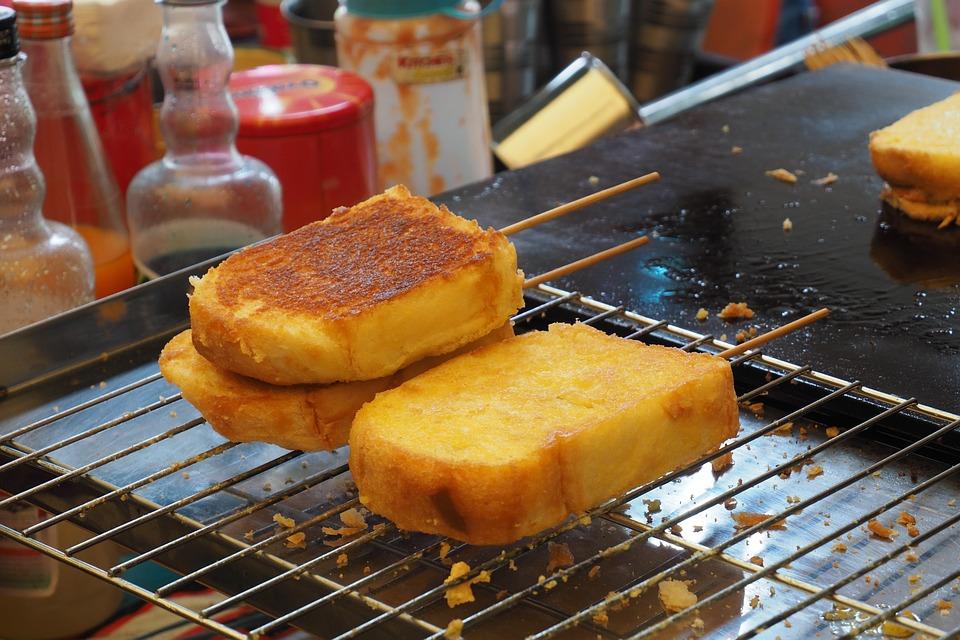 Bread, Toast, Fried, A Pan, Market, Food, Foodstuff
