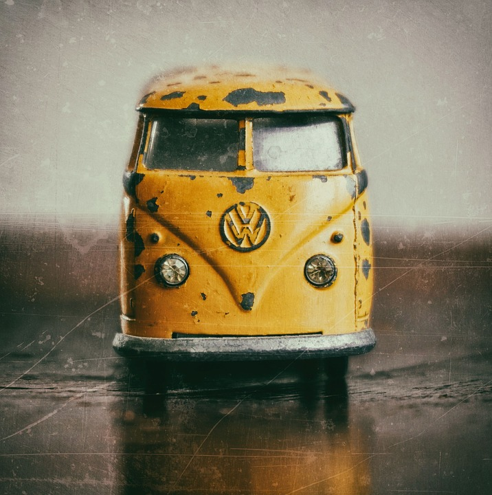 Vehicle, Transport System, A, Retro, Toy Car, Vw Bulli