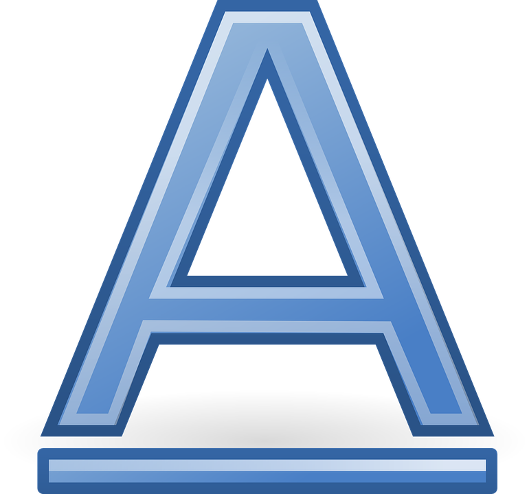 Font, Letter, Underlined, Writing, Abc, Alphabet, A