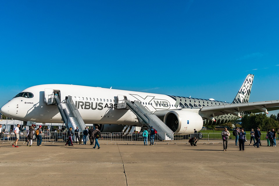 A350, The Show, Static, Airshow, Aviation, Airliner