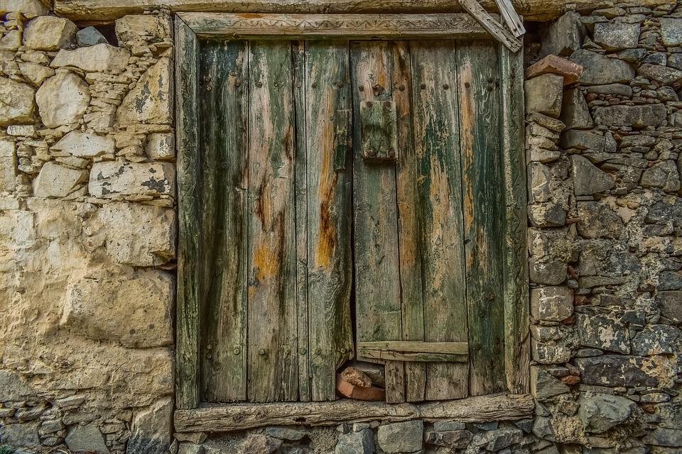 Door, Old, Wooden, Architecture, Old House, Abandoned