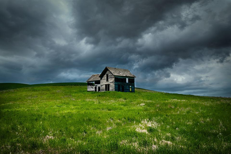 Farmstead, Abandoned, Palouse Region