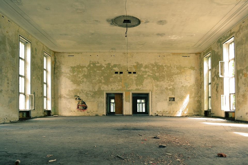 Room, Old, Empty, Abandoned, Interior, Floor, Vintage