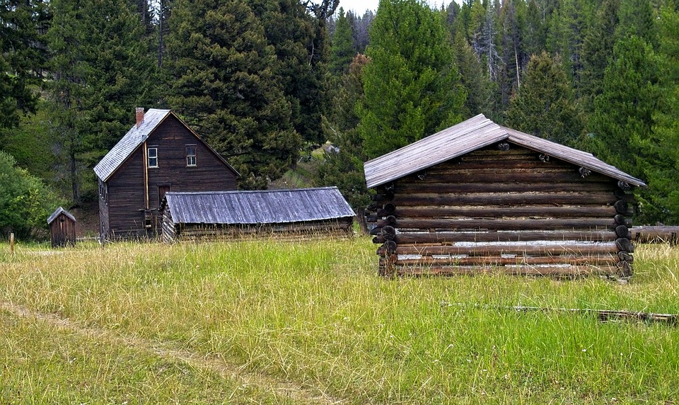 Montana's Garnet Ghost Town, Abandoned, Old, Ghost