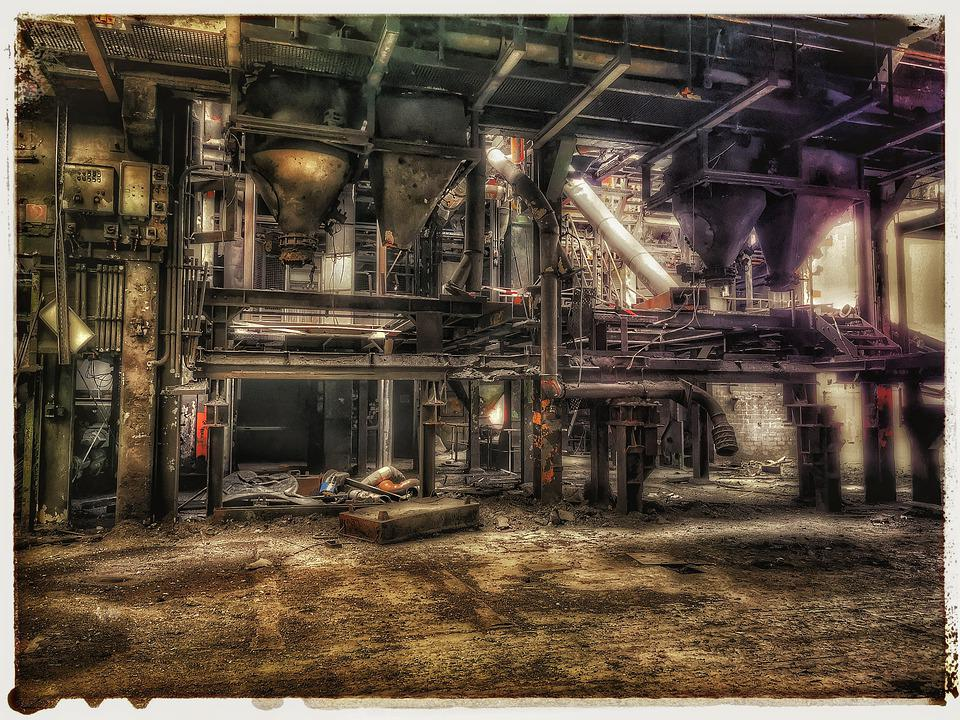 Pforphoto, Lost Place, Factory, Industry, Abandoned
