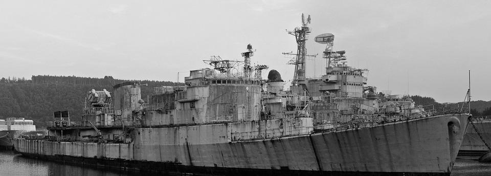 Ship, Military, Abandoned, Maritime, Army, Boat