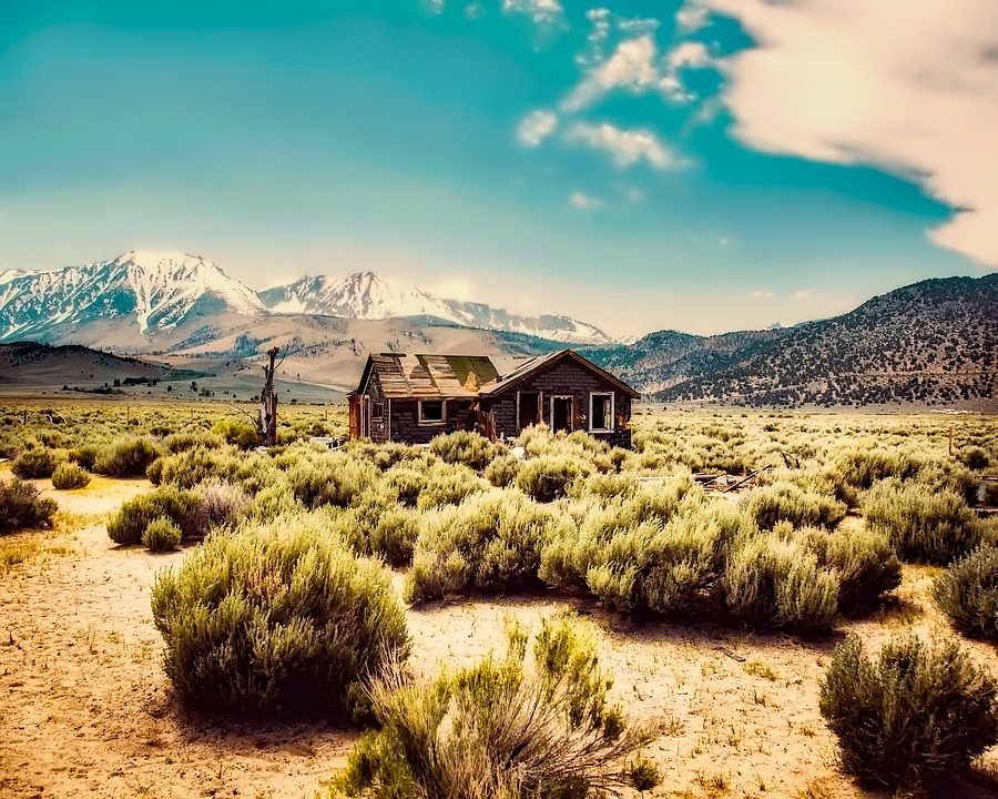 Free Photo Abandoned Mountains Cabin Hdr Remote Shack