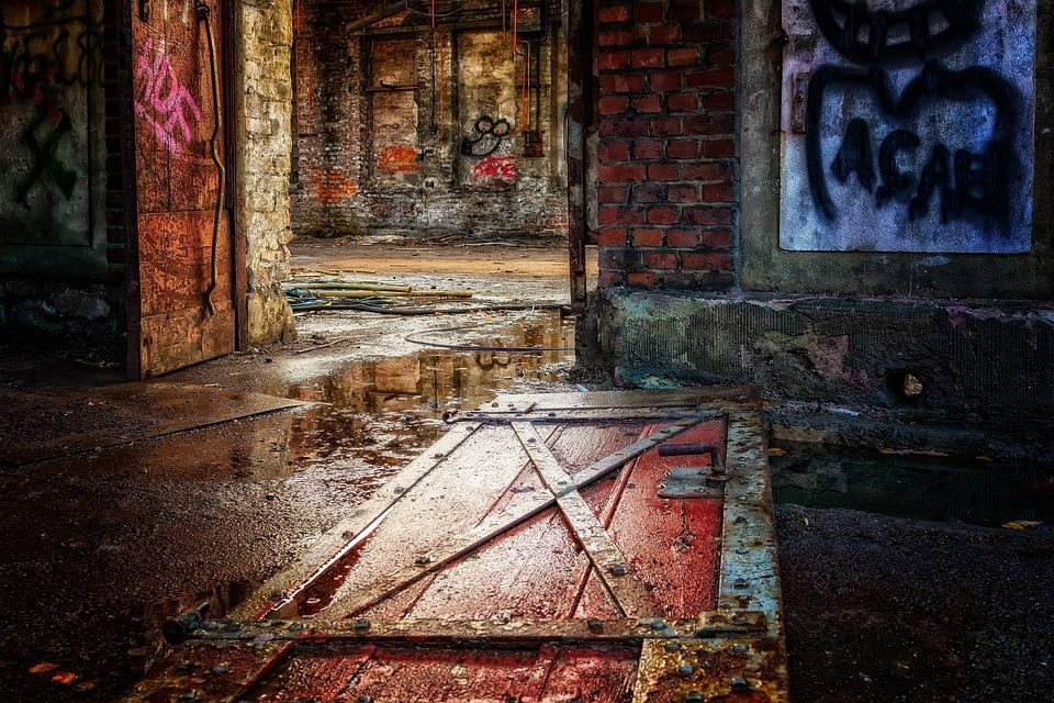 Door, Wood, Lost Places, Abandoned Places, Abandoned