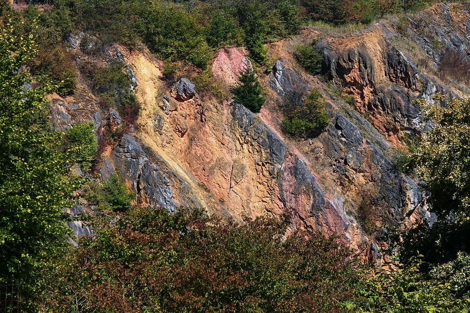 Quarry, Limestone, Marble, Abandoned, Shut Down, Rock