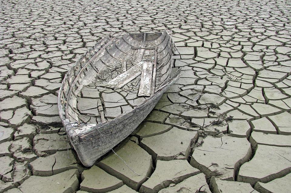 Old, Ship, Mud, Broken, Abandoned, Sad, Background