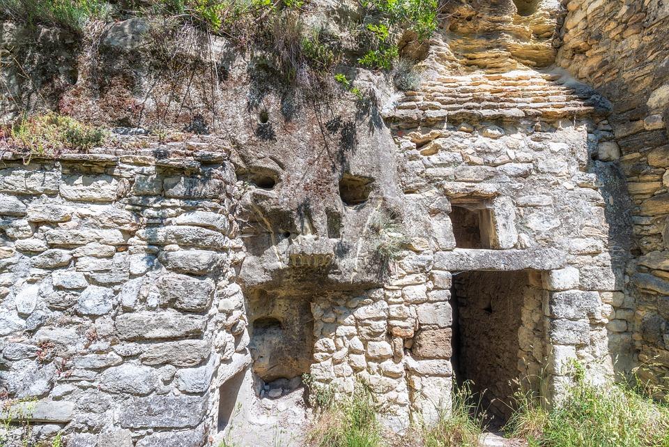 Habitat, Cave, Wren, Stone House, Ruin, Abandoned
