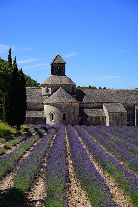 Church, Monastery, Abbey, Abbaye De Sénanque