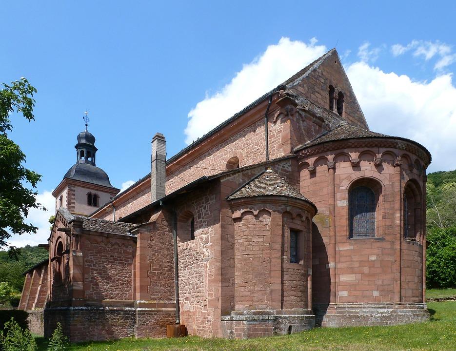 Saint Jean Baptiste De Saverne, Abbey, Church, Building