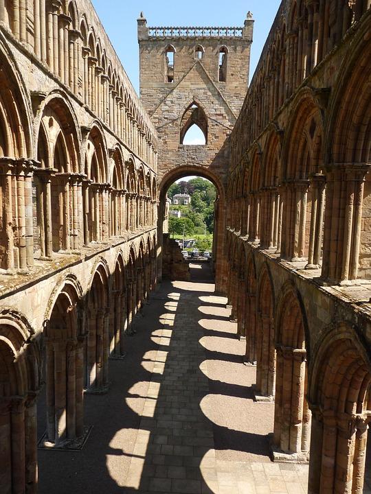 Jedburgh, Abbey, Scotland, Religion, Architecture